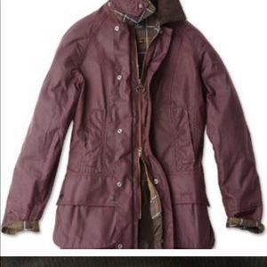 Women's Barbour Beadnell jacket us8 uk12 rewaxed!